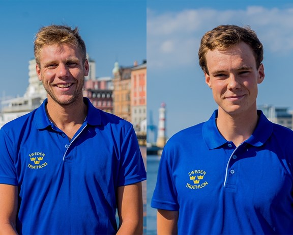 Ludwig Fleetwood, Race & Shine Sports Club och Gabriel Sandör, Terrible Tuesdays Triathlon Club