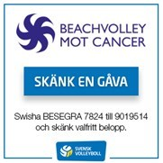 Beachvolley mot cancer
